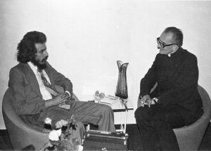 مع فيرجيل جيورجيو 1978