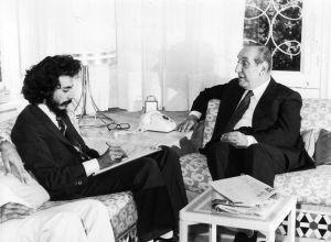 عند الرئيس شارل حلو 1979
