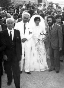 في عرس سعيد عقل 1982