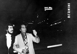 مع نبيه أبو الحسن 1977