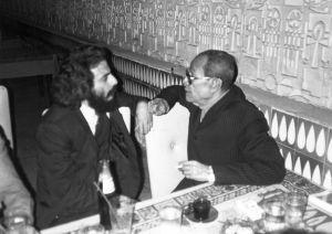 مع نجيب محفوظ 1984