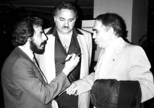 مع الشيخ أمين عوّاد وفارس اسطفان  1985