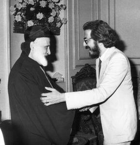 في تهنئة غبطة البطريرك نصرالله صفير 1986