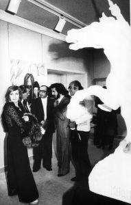 مع جان خليفة- الياس الرحباني وحليم الحاج 1977